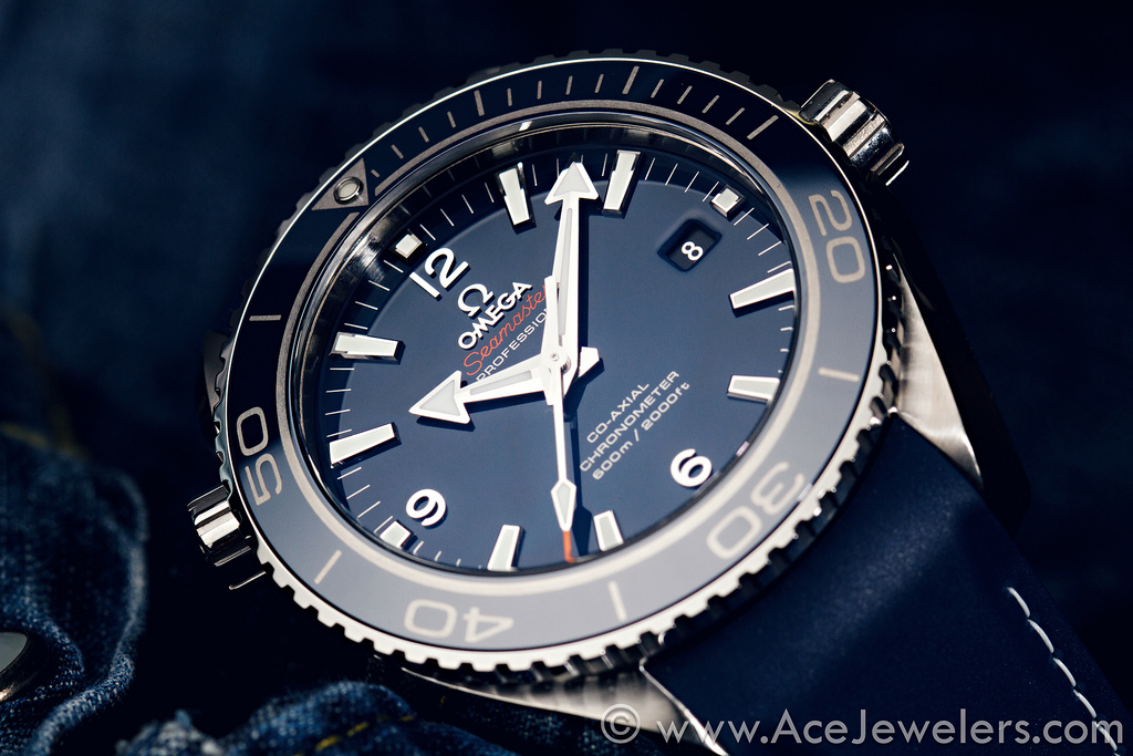 Omega Seamaster Planet Ocean Liquid Metal 232.92.46.21.03.001